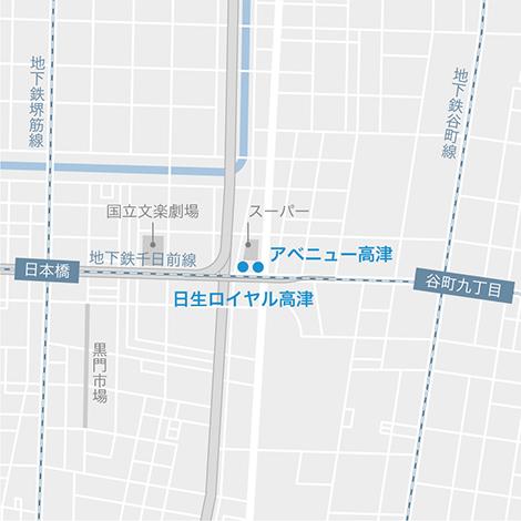 大阪ミナミエリア